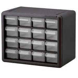 Small Cabinet Home Depot Akro Mils 16 Drawer Small Parts Storage Cabinet 10116