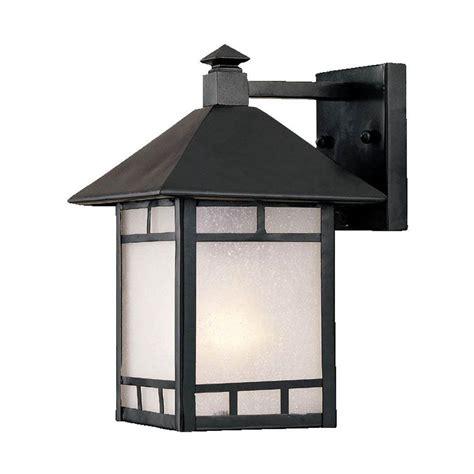acclaim lighting artisan collection 1 light matte black