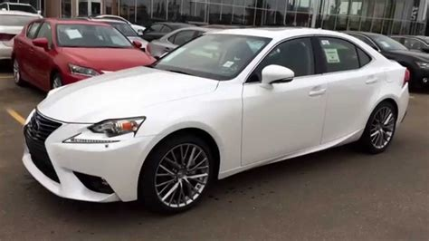 2015 lexus isf white white on black 2015 lexus is 250 awd review alberta