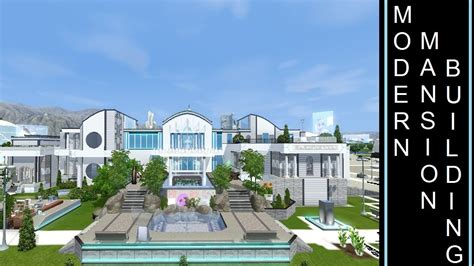 building a mansion futuristic mansion the sims 3 into the future