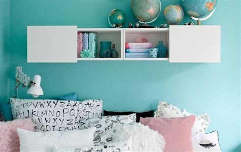 schlafzimmer ideen sterne luzies pastellblaue w 228 nde und einfarbige textilien