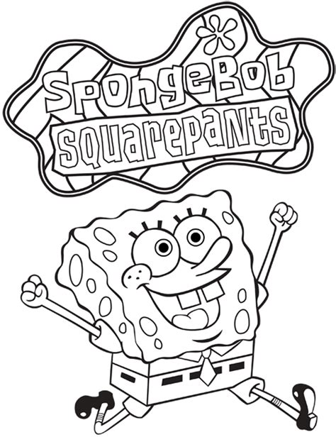 printable coloring pages nickelodeon free nickelodeon spongebob coloring pages for
