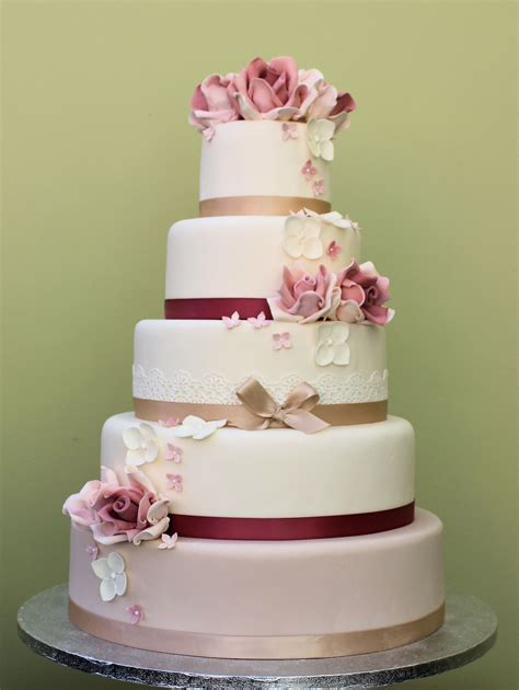 Hochzeitstorte Altrosa by Classic Wedding Cakes Archives Baytree Wedding Cakes