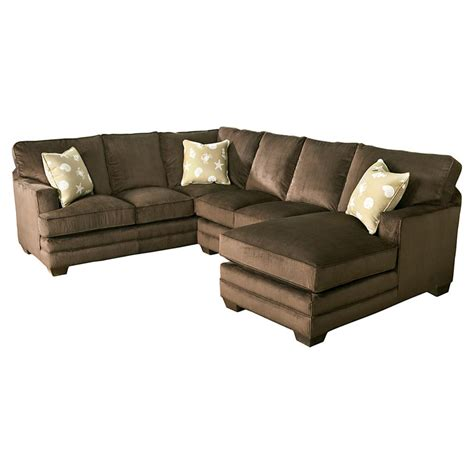 bassett u shaped sectional custom upholstery manor sale