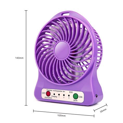 Fan Usb 4 Rechargeable rechargeable usb fan
