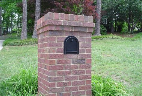 how to decorate a square brick mailbox for christmas how to draw brick mailbox designs the wooden houses