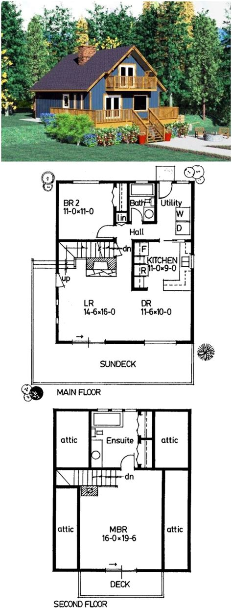 house plan small vacation home floor fantastic cabin plans