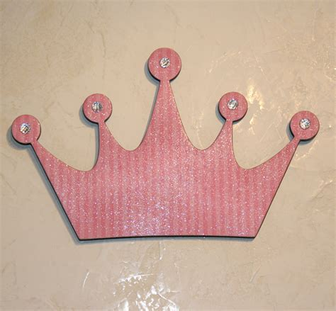 crown decor pink princess princess crown wall decor pink wall decor