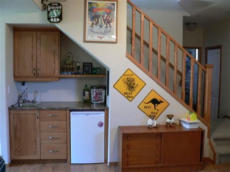 Ideas For Space Under Stairs Stairs Kitchen Design