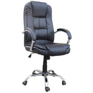 Computer Desk Chairs At Walmart Homegear Pu Leather Executive Wheeled Computer Desk Chair Office Chair Black Walmart