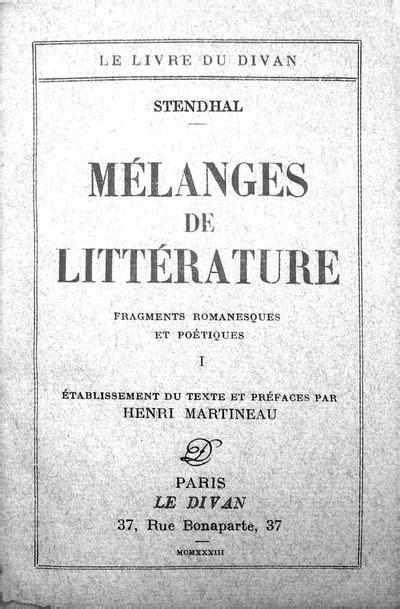 1334882193 correspondance de stendhal vol vialibri 934383 rare books from 1927
