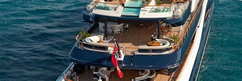 solandge yacht layout owner s deck yacht solandge