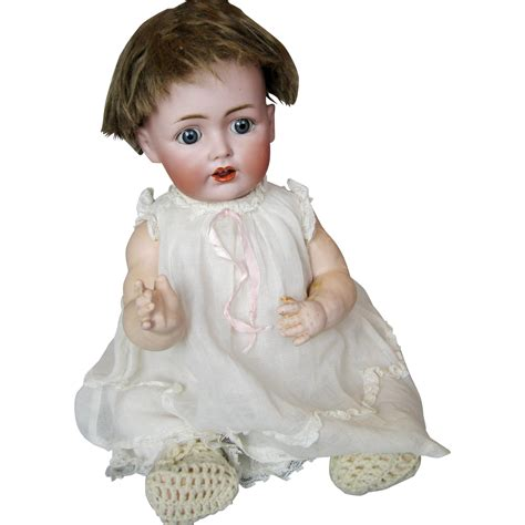 bisque doll mold antique kestner german bisque character baby doll mold 257