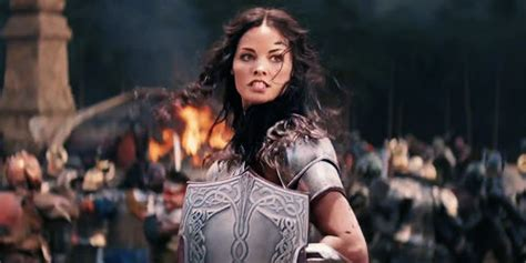 thor movie jaimie alexander jaimie alexander to play lady sif in agents of s h i e l d