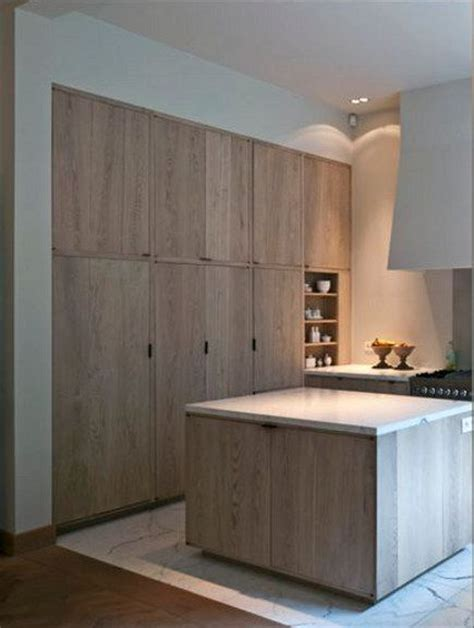 oak modern kitchen peonies and orange blossoms cerused oak kitchens