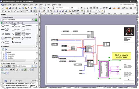 visio canada page reference d tools