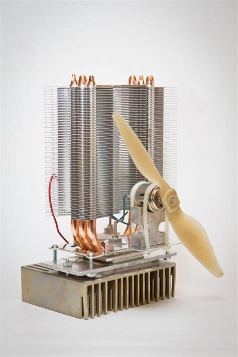 heat to electricity diy this woodstove fan turns heat energy into electrical