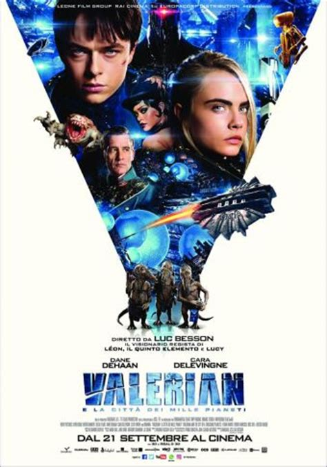 valerian and the city valerian and the city of a thousand planets online il poster ufficiale