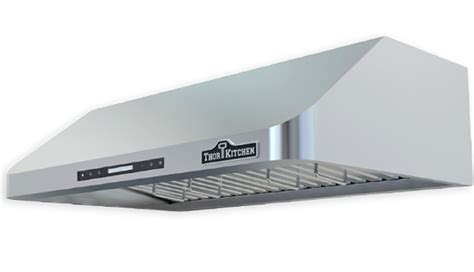 commercial kitchen exhaust hood design 4 burner gas thor kitchen stoves professional stainless steel ranges