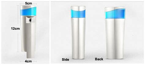 Nanometer Skin Spray Power Bank 2014 fashion nano spray water with power bank 22ml