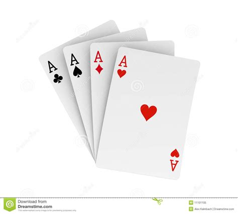 Four On A by Four Aces Royalty Free Stock Photo Image 11101105