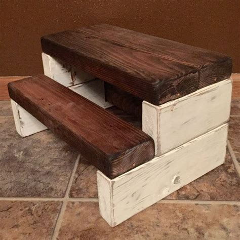 Shabby Chic Step Stool by Best 25 Rustic Step Stools Ideas On