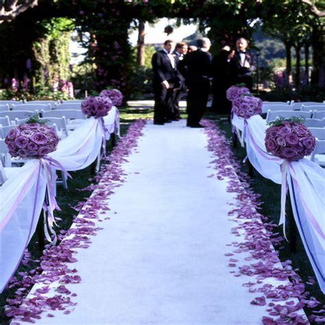 Wide Wedding Aisle Runner by 50 Ft Satin Fabric Aisle Runner 22 Colors Wide 60