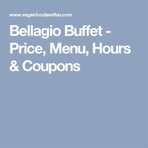 1000 ideas about las vegas buffet prices on pinterest