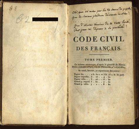 the code napoleon or the civil code literally translated from the original and official edition published at in 1804 classic reprint books in 1804 he crowned himself emperor of in a lavish