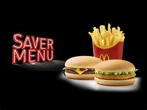 mc donalds challenge mcdonalds pound saver menu challenge