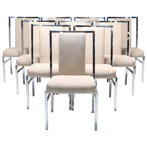 Daystrom Furniture daystrom dining chairs for cardin set of ten at