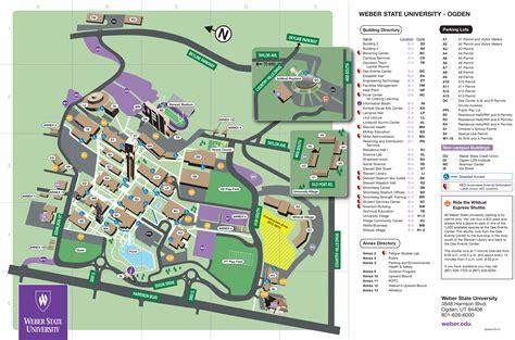 wsu map weber state map adriftskateshop