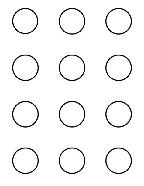 printable macaron template 9 printable macaron templates free word pdf format