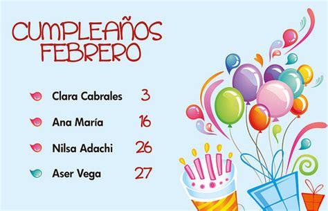 imagenes de cumpleaños octubre cartelera de cumplea 241 os infantiles imagui