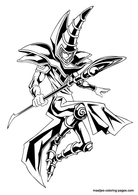 Coloring Page Yu Gi Oh by Yu Gi Oh Coloring Page Yugioh Coloring
