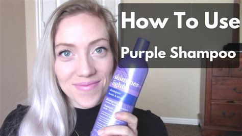 shimmer lights before and after purple shampoo before and after youtube