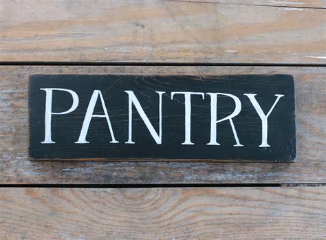 black pantry sign   backyard studio  mill creek