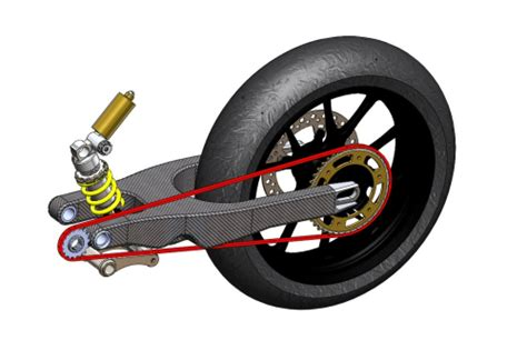 what is a motorcycle swing arm motorcycle swingarm redesigned in carbon composite