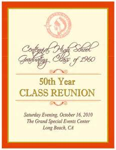 family reunion booklet sle souvenir book centennial h s 50th reunion