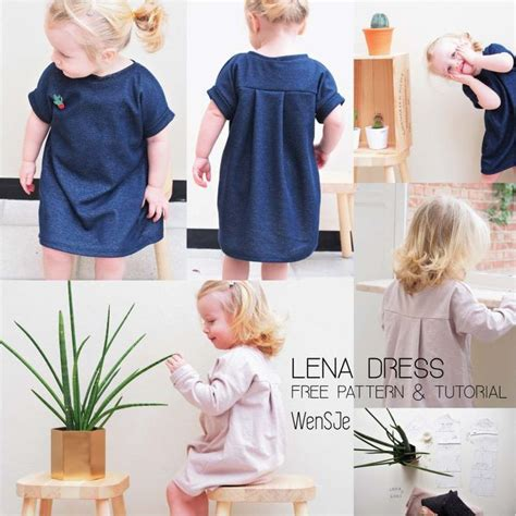Lenna Dress by 17 Beste Idee 235 N Kinderkleding Patronen Op