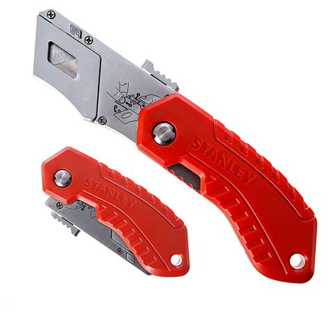 knife without handle stanley pocket folding safety utility knife retractable