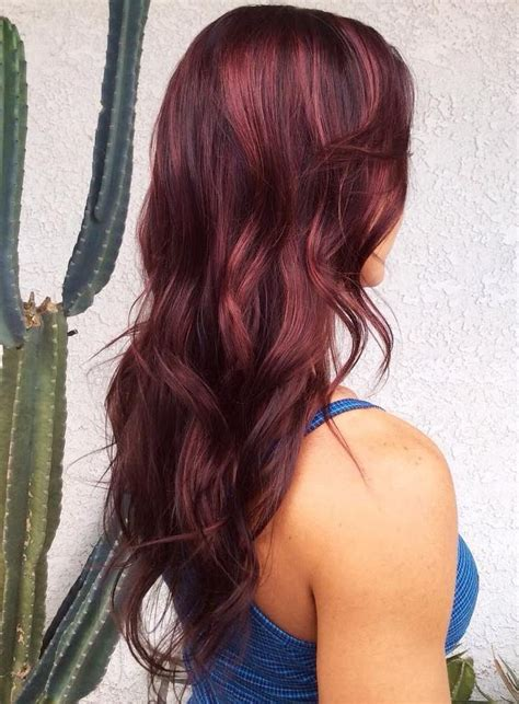 light burgundy brown hair color best 25 maroon hair ideas on maroon hair