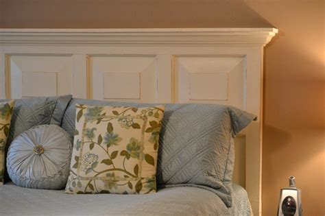 make a headboard out of a door 11 ways to repurpose old doors dukes and duchesses