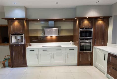 white wood mix kitchen designed fitted design