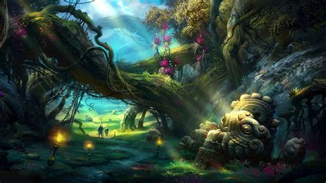 magic painting free mystical backgrounds mystical forest wallpaper trust