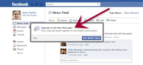 Search Fb By Email How The New Messages Email System Works