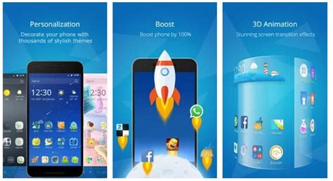 cm launcher apk cm launcher 3d fast and stylish launcher with cool effects