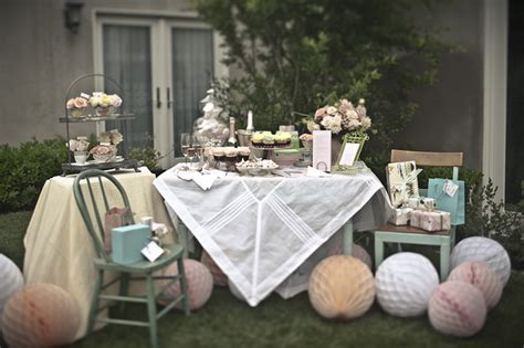 pretty tea party bridal shower inspiration sweetest