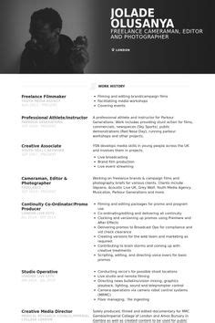 Cameraman Resume Format by Creative Resume Design Layouts Ideas About Best Cv Sles On Resume Free Resume And