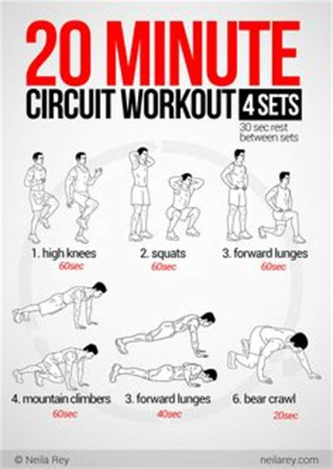 circuit workouts and workout on